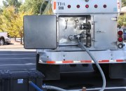 A water tanker and filter (pictured here, lower left) is being used to support dialysis operations in Fayetteville, N.C.